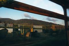 High Hopes (Nutchanon Karikan) Tags: railways view sunset sky blue windows shadow mood feeling travel
