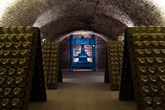 Champagne Wine Cellar (hl_1001) Tags: austria vienna champagne wine press cellar bottles wien