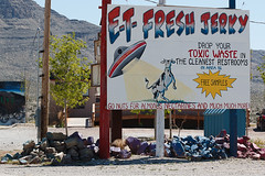 E.T. Fresh Jerky, Extraterrestrial Highway (Jeffrey Sullivan) Tags: et fresh jerky extraterrestrial highway blm bureau land management rachel nevada united states usa travel landscape nature photography canon eos 5d mark ii dslr digital camera photo copyright march 2015 jeff sullivan