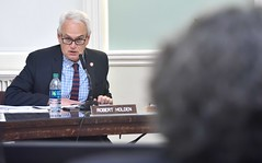 Council Member Robert Holden During Committee on Mental Health, Disabilities and Addiction Hearing - John McCarten NYC Council (New York City Council) Tags: featured