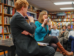 2018.03.20 Sarah McBride and Rep Joe Kennedy, Politics and Prose, Washington, DC USA 4109