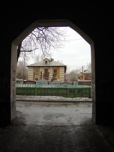 Двор на Щорса ©  ayampolsky