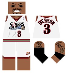 (davidwang15) Tags: lego moc decal ai theanswer iverson allstar stars nba