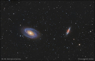 M81 - M82 -- Bode's Galaxy and Cigar Galaxy