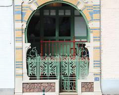 Architecentenwoning Gustave Strauven, Brussel (Erf-goed.be) Tags: architectenwoning gustavestrauven lutherstraat brussel archeonet geotagged geo:lon=43851 geo:lat=508507