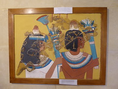 Fragmentary Tomb Painting (Aidan McRae Thomson) Tags: amarna egypt museum ancient egyptian