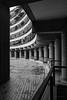 Upper Frobisher Crescent (cybertect) Tags: carlzeissmmdistagont28mmf28 chamberlinpowellandbon cityoflondon ec2 london londonec2 modernism sonya7ii thebarbican upperfrobishercrescent architecture building concrete