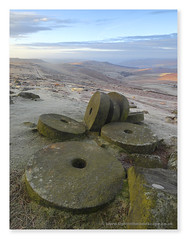 Trial and Error (Hadrian Frankland) Tags: millstone stanage edge stanageedge pdnp peakdistrict frost mist clouds blueskies canonmirrorless canonefm canon hathersage northlees wwwlightinthelandscapecouk