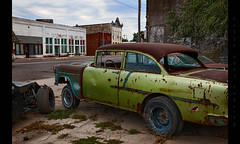 Outta Gas (Whitney Lake) Tags: decay rust vintage chevy classic retro hotrod junk