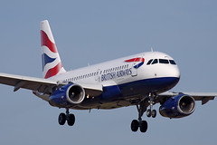 Airbus A319-131 - G-EUPL - HAJ - 07.04.2018 (Matthias Schichta) Tags: hannoverlangenhagen haj eddv planespotting airport aircraft airbus a319 britishairways eupl