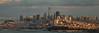 San Francisco panorama (reinaroundtheglobe) Tags: sanfrancisco california usa panoramic panorama cityscape skyline urbanlandscape water sea sunset sunlight shadows buildings financialdistrict