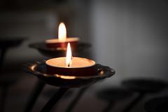 Abbazia di Monte Oliveto Maggiore (casipinto) Tags: italy candle macro dark