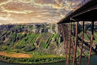 Perrine Memorial Bridge ~ Hightest Bridge in Idaho ~ Twin Falls ID