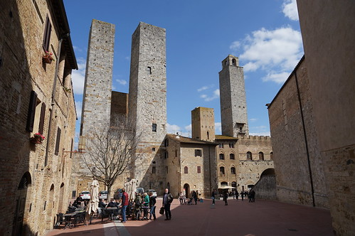 San Gimignano, Italy, March 2018