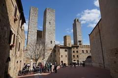 San Gimignano, Italy, March 2018