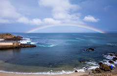 Lover's Point rainbow (Margret Maria Cordts) Tags: pacificgrove california unitedstates us