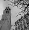 """""""Le dessin n'est pas la forme, il est la manière de voir la forme"""" - Antoine de Saint-Exupéry (imaginamateur) Tags: france lyon antoinedesaintexupéry argentique rolleiflex35 6x6 blackwhite rhône lepetitprince moyenformat fujifilmacros100professional"""