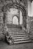 A Palatial entrance… (AJFpicturestore) Tags: stdavids bishopspalace grand palatial reformation loss monochrome pembrokeshire wales steps entrance alanfoster