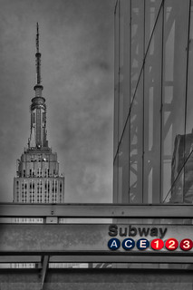 Empire State 34th St Subway NYC