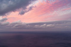 Sunset, somewhere. (daniel.chodusov) Tags: sunset purple traveling ship evening themediterraneansea spain andalusia gibraltar morocco travelling travel
