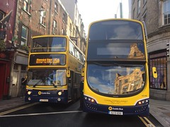 AX529 & SG90 (06-D-30529) (152-D-2455) (Dublin Bus DT Class Fan.) Tags: fleet street ringsend alx400 volvo b7tl mkii 73l ax ax529 sg sg90 152d2455 06d30529 15a