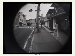 Old circle (憂-ICHIRO) Tags: street snap iphonese hipstamatic wide lens fisheye