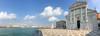 Over the Bacino San Marco from San Giorgio Maggiore (ho_hokus) Tags: 2017 bacinosanmarco italy sangiorgiomaggiore venezia venice basilica church iphone5se panorama water scenery venedig