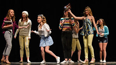 The girls of Delta Nu (R.A. Killmer) Tags: legally blonde musical bethelpark actors singer performance talented show stage theatrical theater costume performer