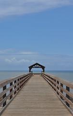 Hawaii - Kauai - Waimea Pier (Harshil.Shah) Tags: hawaii kauai waimea pier sea sky horizon blue united states america usa