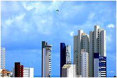 Parapente sobre a cidade (o.dirce) Tags: parapente odirce brasil natal