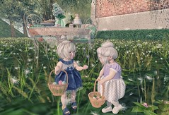 Look it! (Emery/Teagan Parker) Tags: elodie sodapopshop bellybean doe argrace toddleedoo sl secondlife easter eggs garden cute adorable