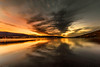 _DSC3441 (MarcusXD1974) Tags: iceland akureyri north nikon d7200 sigma 1020f35 sunset sky orange landscape seascape water clouds summer city trees dramatic serene bay mountains forest fjord golden hour long exposure