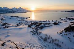 Late winter sunset (TerjeLM) Tags: grøtfjord kvaløya snow snø solnedgang sunset vinter winter