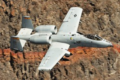 HI MOM & DADI (Dafydd RJ Phillips) Tags: david monthan montan hog warthog a10 tank buster display jedi transition pilot star wars rainbow canyon valley death panamint low level