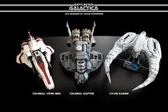 IMG_3532 (Davdup) Tags: battlestargalactica bsg lego moc colonial raptor cylon viper vipermkii