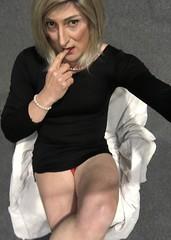So , I had this thought .................. (emma_jay_park) Tags: emmajay emmajaypark lbd legs boy2girl boytogirl mtf blonde xdressing xdress xdresser crossdress crossdressing crossdresser tranny transsexual tgirl tgurl transformation transvesite trans tv cd