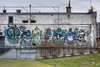The Weird Crew (Herbalizer) Tags: the weird crew nychos frau isa tomsta dxtr graffiti mural wien vienna arena austria österreich wall wand