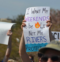I want my weekends to be lit, not my rivers (afagen) Tags: washington dc washingtondc districtofcolumbia marchforscience sciencemarch science sign