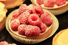 Raspberry temptations (ole_G) Tags: raspberry pastry temptation capecod falmouth raspberrytart delicious