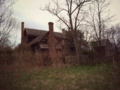 out back (History Rambler) Tags: old abandoned antebellum plantation house home rural south vacant lost forgotten history historic nc ohmyword