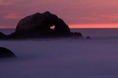 San Francisco, California (Jolita Kievišienė) Tags: sanfrancisco california america pacific ocean water beach coast heart seascape shaped rock