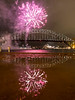 puddles (mezuni) Tags: fireworks sydney puddle sydneyharbourbridge night reflection