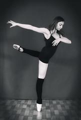 Ballerina (bojanstanulov) Tags: ballerina balet beautiful balletdancer balletshoes balletclass bw blackwhite girl people portret