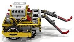 Lego EV3 Mow-Bots Tiger w/Dual Hooks (dluders) Tags: fll lego mindstorms ev3 firstlegoleague wro robot claw pto ldd lxf