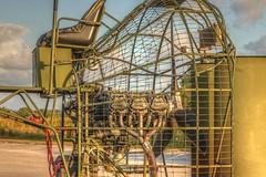 DW4A2591_tonemapped (Stu Haldeman) Tags: airboat motor engine cage