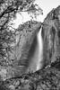 Yosemite Valley - Upper Yosemite Fall_B&W_1294 (www.karltonhuberphotography.com) Tags: 2016 blackandwhite california cliffface flowingwater karltonhuber landscape naturalframe naturalworld nature outdoors silverefexpro2 tree upperyosemitefall verticalimage water waterfall yosemite yosemiteconservancy yosemitenationalpark yosemitevalley