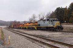 B&P BTRI @ Butler, PA (Dan A. Davis) Tags: bp buffalopittsburgh bprr geneseewyoming gw freighttrain railroad locomotive train pa pennsylvania butler chicora sd40t2 sd403 sd402