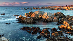 Sunset At Asilomar (chasingthelight10) Tags: events photography travel landscapes beaches nature ocean sunset places california pacificgrove asilomar otherkeywords