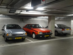 Renault Fuego x3 (harry_nl) Tags: netherlands nederland 2018 ijsselstein renault fuego 41jhjx 25nlfv 38rlgg sidecode6