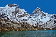 Kedartal !! (Lopamudra !) Tags: lopamudra lopamudrabarman lopa india thalaysagar thalaisagar bhrigupanth bhrigupant peak peace crystalpeak crystal peaks mountain mountains kedartal kedartaal kedar kedarganga lake landscape loch water waterscape turquoise garhwal uttaranchal uttarakhand uttarkhand himalaya himalayas highaltitude highland highaltitudelake trek trekking nature glacier glacial snout moraine colour color colours colourful cold beauty beautiful picturesque